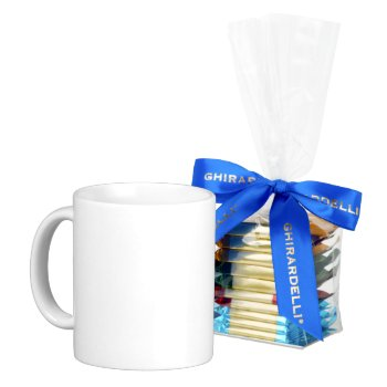Ghiradelli Chocolate Squares And A Cup by creativeconceptss at Zazzle