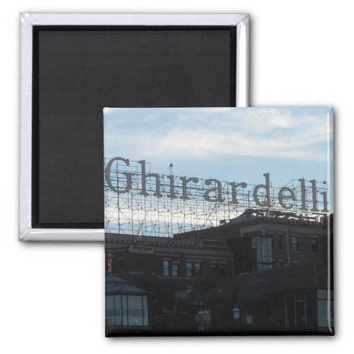 Ghirardelli Square- San Francisco Fridge Magnet