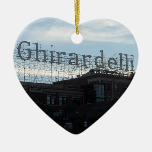 Ghirardelli Square- San Francisco Ornament