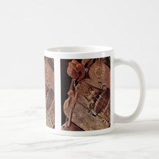 Ghironda Player (Hurdy Gurdy)  By La Tour Georges Coffee Mug