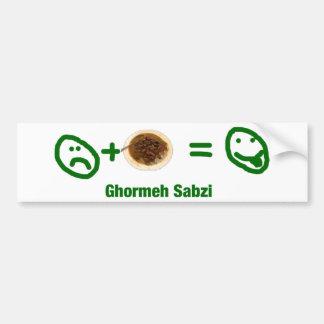 Ghormeh Sabzi Bumper Stickers