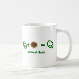 Ghormeh Sabzi Coffee Mug