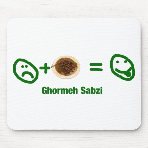 Ghormeh Sabzi Mouse Pad