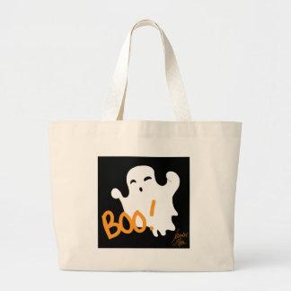 Ghost 1 large tote bag