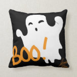 Ghost 1 Throw Pillow