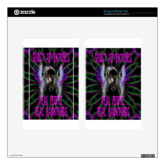 Ghost Adventures Kindle Fire Decal