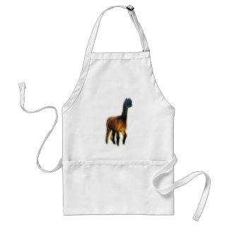 Ghost alpaca adult apron