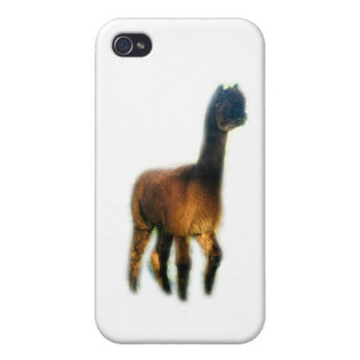 Ghost alpaca iPhone 4/4S covers