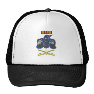 ghost and sabers troop trucker hat