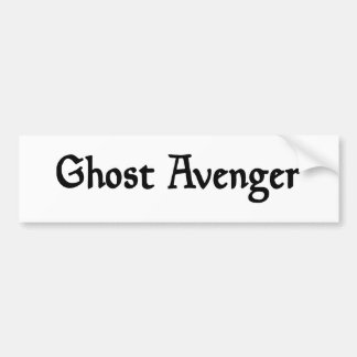 Ghost Avenger Bumper Sticker