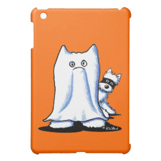 Ghost Bandit Halloween Westies iPad Mini Covers