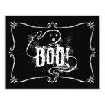 "Ghost Boo 4.25"" X 5.5"" Invitation Card"