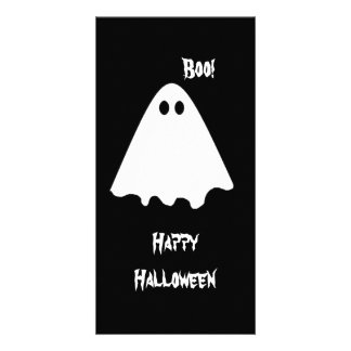 Ghost Boo Photo Greeting Card