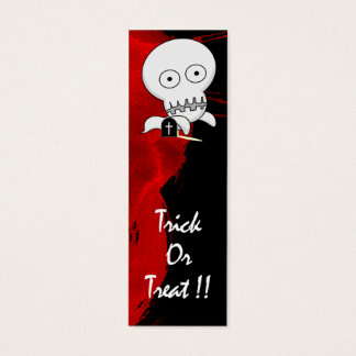 Ghost Bookmark Mini Business Card