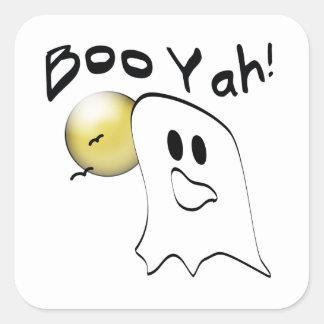 Ghost Booyah Square Sticker