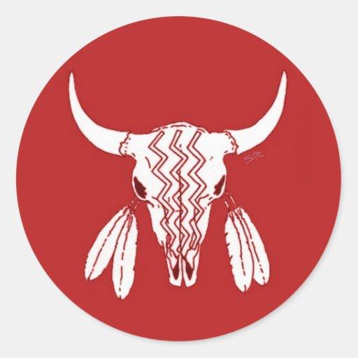 Ghost Buffalo sticker