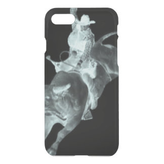 """Ghost"" Bull Rider iPhone 7 Case"