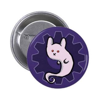 Ghost Bunni Button