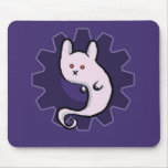 Ghost Bunni Mouse Pad