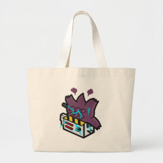 Ghost Busted Large Tote Bag