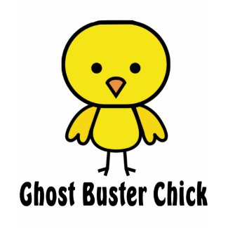 Ghost Buster Chick shirt