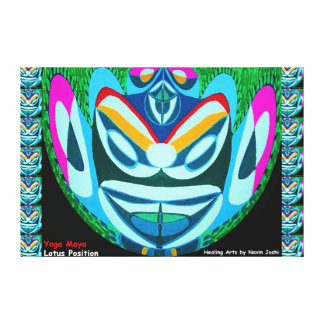 GHOST Buster: Wards off Evil Eye or Spirit Gallery Wrap Canvas
