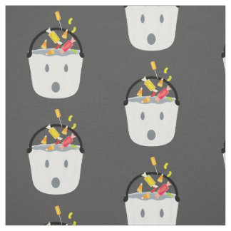 Ghost candy pail fabric