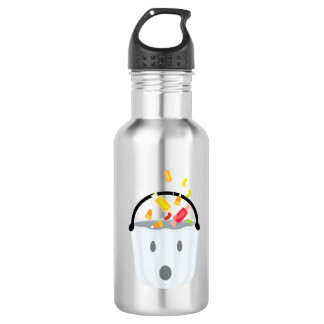 Ghost candy pail stainless steel water bottle