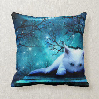Ghost Cat American MoJo Pillow