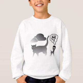 Ghost Cat And Death Dog Sweatshirt