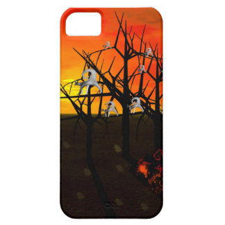 Ghost Cat Sighting on Halloween Night iPhone SE/5/5s Case