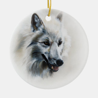 Ghost Ceramic Ornament