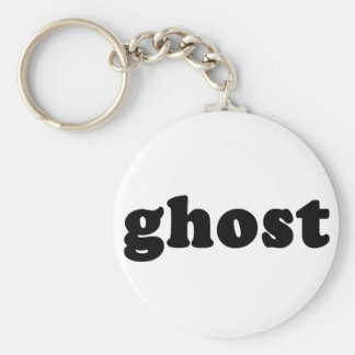 Ghost Cheap and Generic Halloween T shirt Basic Round Button Keychain
