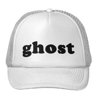 Ghost Cheap and Generic Halloween T shirt Trucker Hat