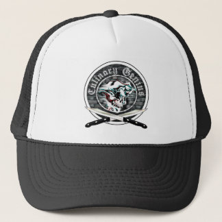 Ghost Chef Skull Trucker Hat
