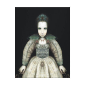 Ghost Child Canvas Print