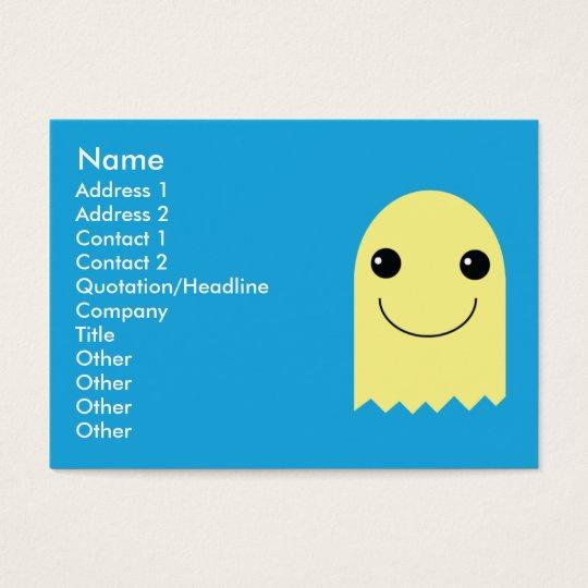 Ghost - Chubby Business Card