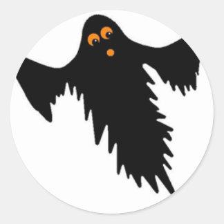 Ghost Classic Round Sticker