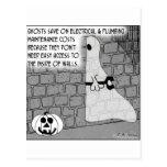 Ghost Contractors Easy Access Postcard