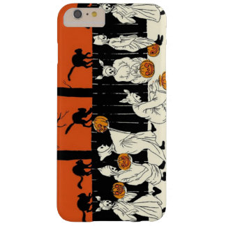 Ghost Costume Trick Or Treat Black Cat Pumpkin Barely There iPhone 6 Plus Case