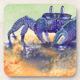 ghost crab drink coasters
