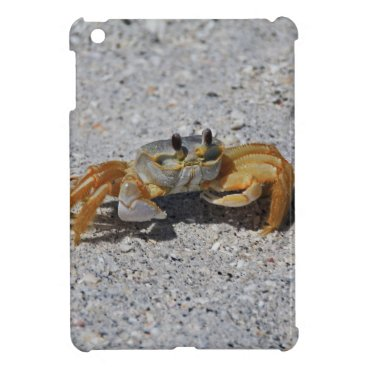 Beach Themed Ghost Crab iPad Mini Covers