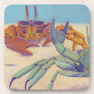 ghost crabs coasters