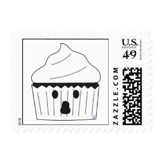 Ghost Cupcake Postage