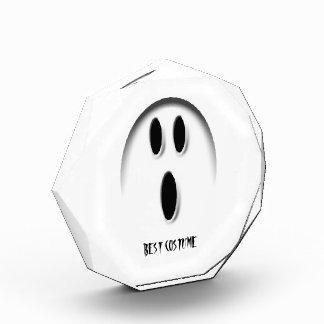 Ghost Custom Halloween Party Best Costume Prize Acrylic Award