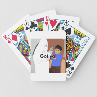 Ghost deck of cards