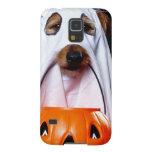Ghost  dog - funny dog - dog halloween galaxy s5 cover