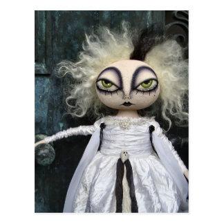 Ghost Doll Postcard