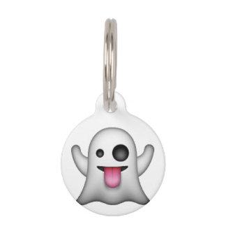 Ghost - Emoji Pet Name Tag