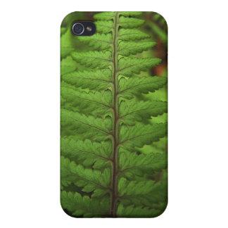 Ghost Fern Leaf iPhone Case